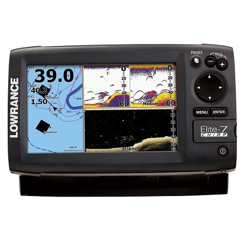 Lowrance Elite 7 CHIRP Gold