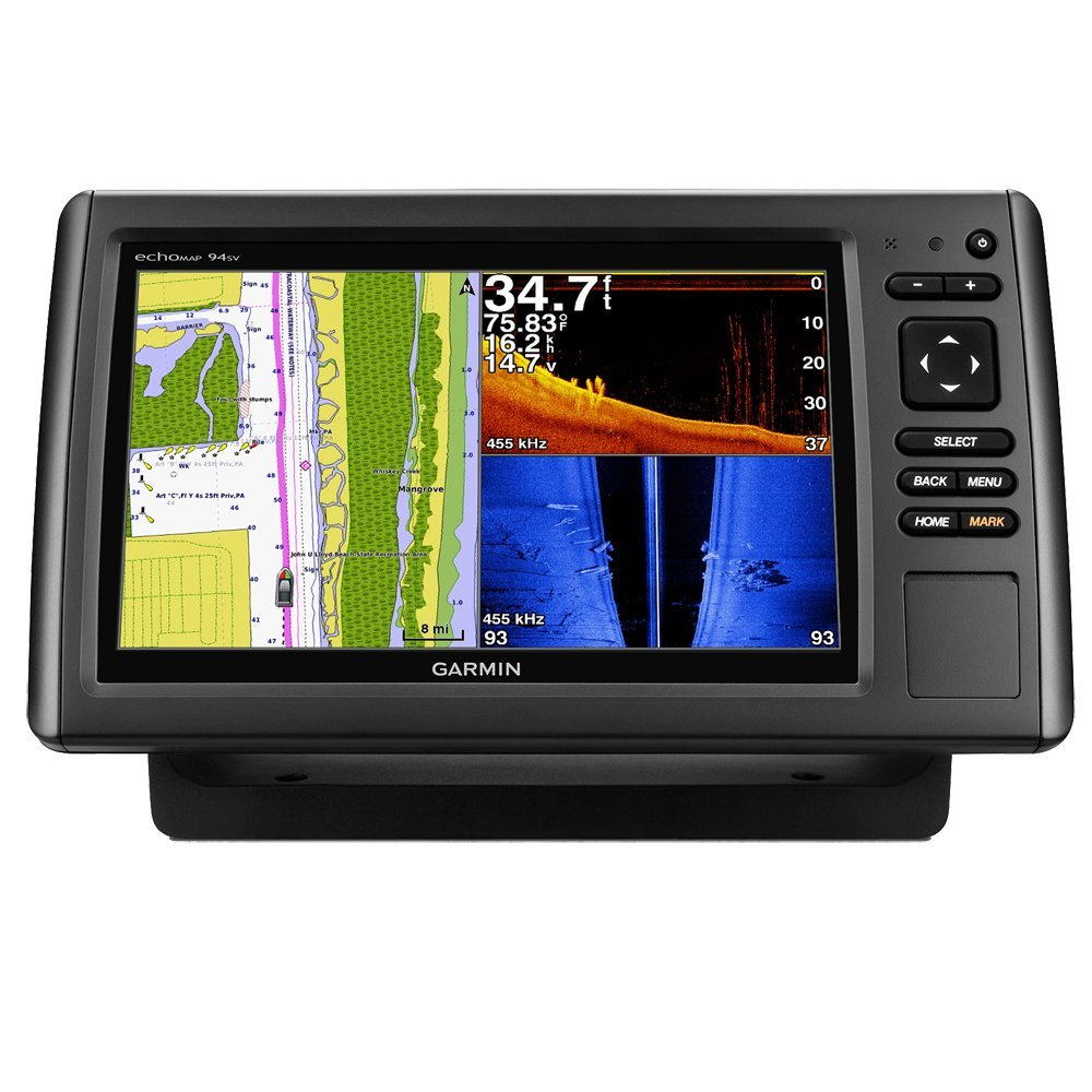 Garmin echoMAP CHIRP 94sv, Garmin Fish Finder Reviews