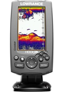 Lowrance Hook-4X Ice Machine