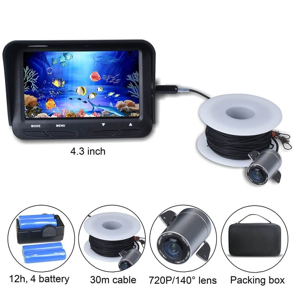 Fish Finder Camera 720P 2MP Underwater Video Fishing Camera