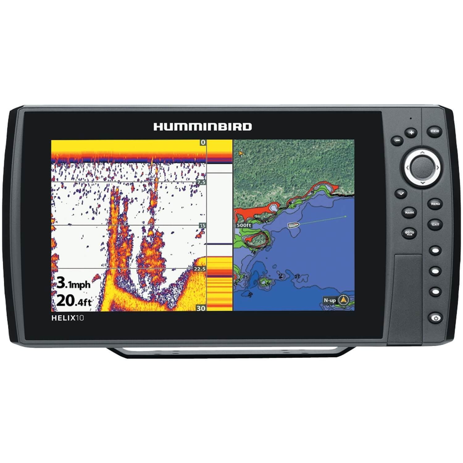 Humminbird HELIX 10 Sonar GPS Fish Finder