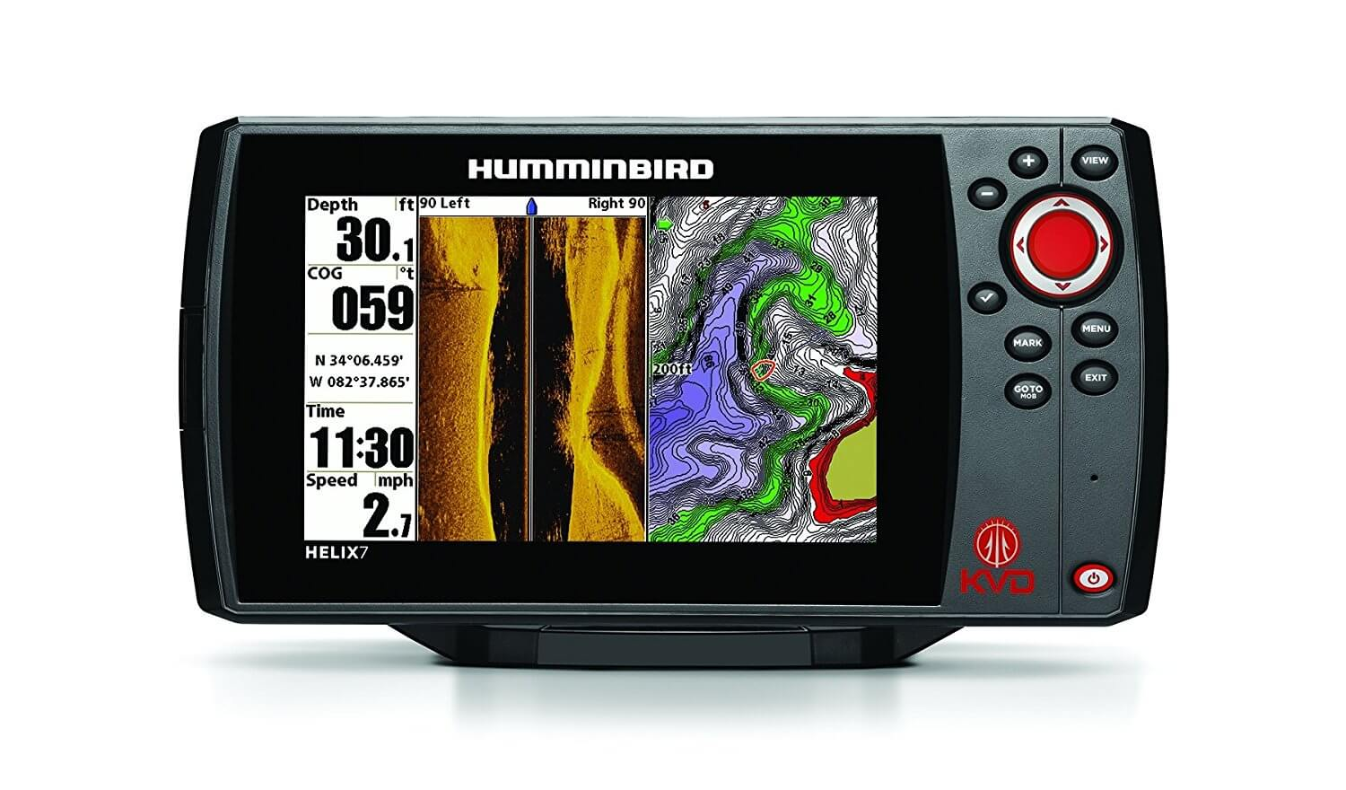 Humminbird Helix 7 SI KVD Fish Finder