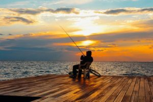 Patience fishing
