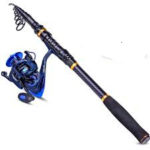 TROUTBOY Black Warrior travel Fishing Rod