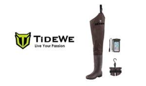 TIDEWE Lightweight Fishing Hip Waders