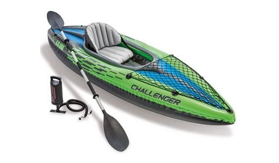 Best Fishing Kayaks: Intex Challenger 1-Person Inflatable Kayak