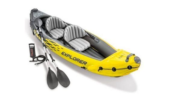 Best Fishing Kayaks: Intex Explorer 2-Person Inflatable Kayak